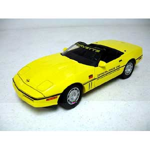 Chevy Corvet Indy 500 Pace 1986 Yellow (1/18)