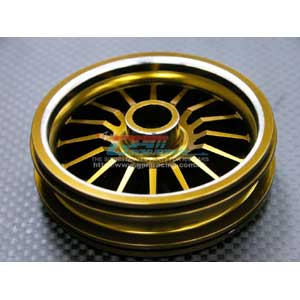 Kyosho Motor Cycle Alloy Rear Wheel Flat