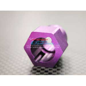 Savage Alloy Brake Disk Adaptor - Purple