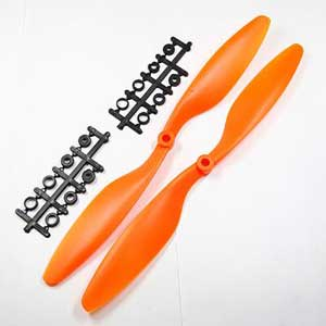Multicopter Propeller Set 10x4.5 Orange