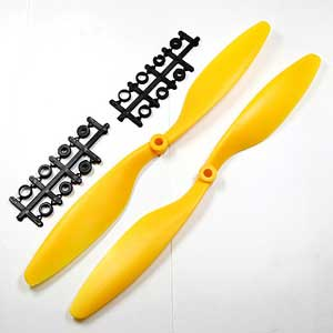 Multicopter Propeller Set 10x4.5 Yellow