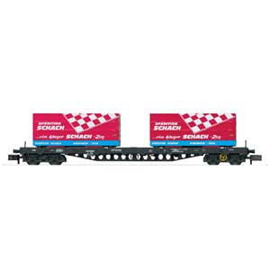 DB AG freight car Spedition Schachn (N)