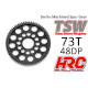 Delrin Spur Gear 73T 48Pitch (TSW Pro - Ultra Light)