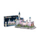Neuschwanstein Castle 3D + Multicolor LED (128Pcs)