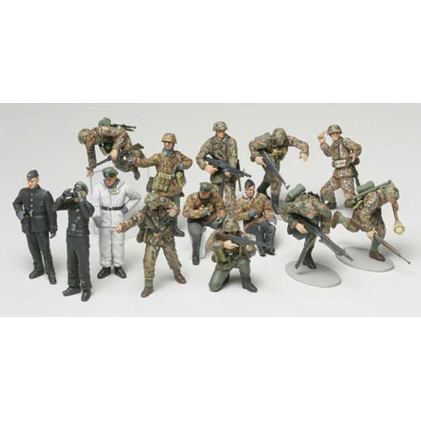 WWII German Panzer Grenadier Set (1/48)