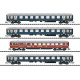 DB MERKUR Express Train Passenger Car Set (N)