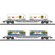 SBB/CFF/FFS Container Transport Car Set (N)