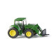 John Deere 6820S with front fork (N)